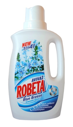 Aviváž Robeta Blue Breeze 1l = 4l